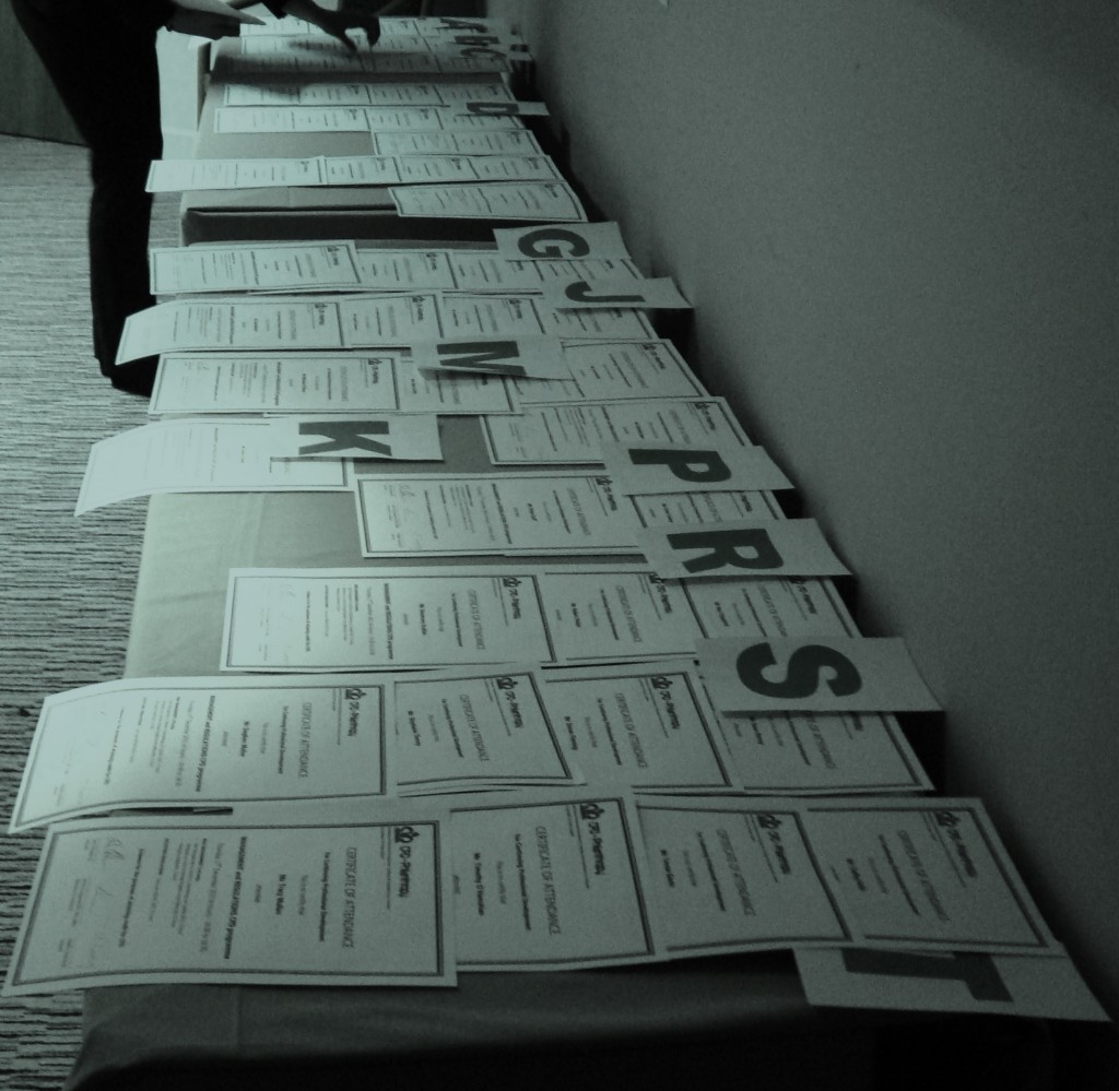 Legal CPD Certificates