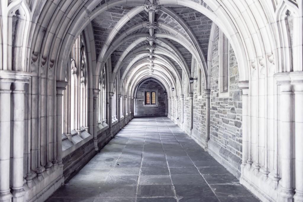 gothic aisle